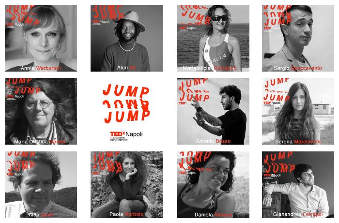 Speakers TEDx Napoli 2018